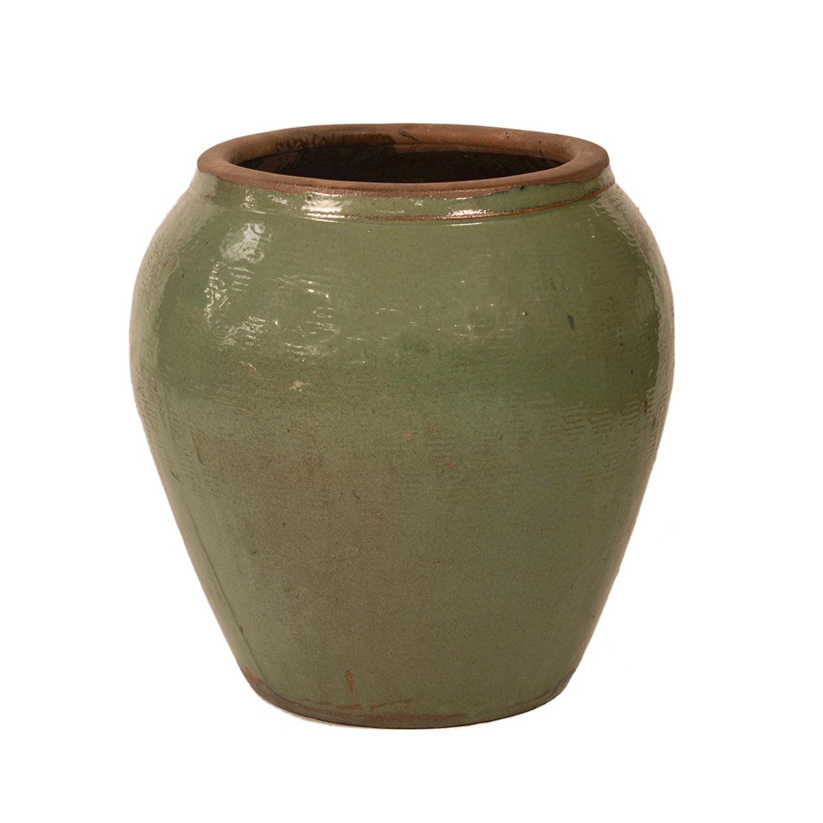 Green Ceramic Planter Furniture Mix