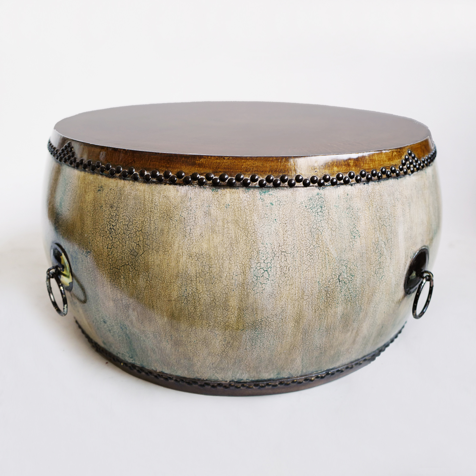 Mongolian Drum Coffee Table Furniture Design Mix Gallery