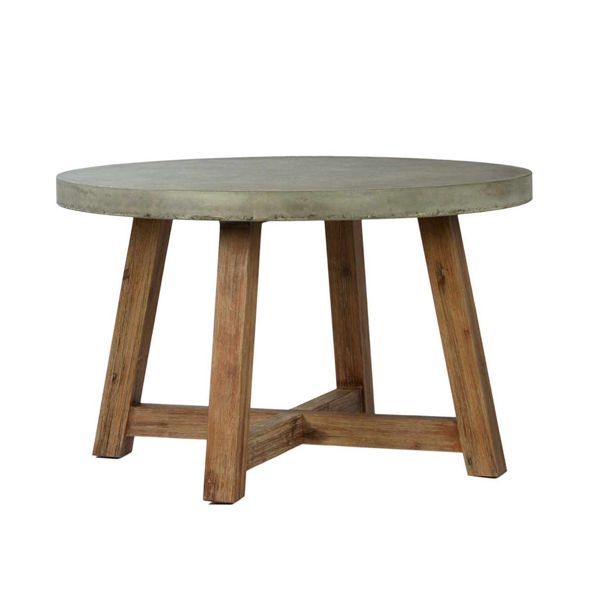 $2,100.00 - Outdoor Round Cement Dining Table Furniture Mix Furniture