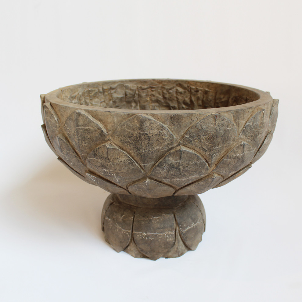 Stone Carved Lotus Bowl Furniture Design Mix Gallery