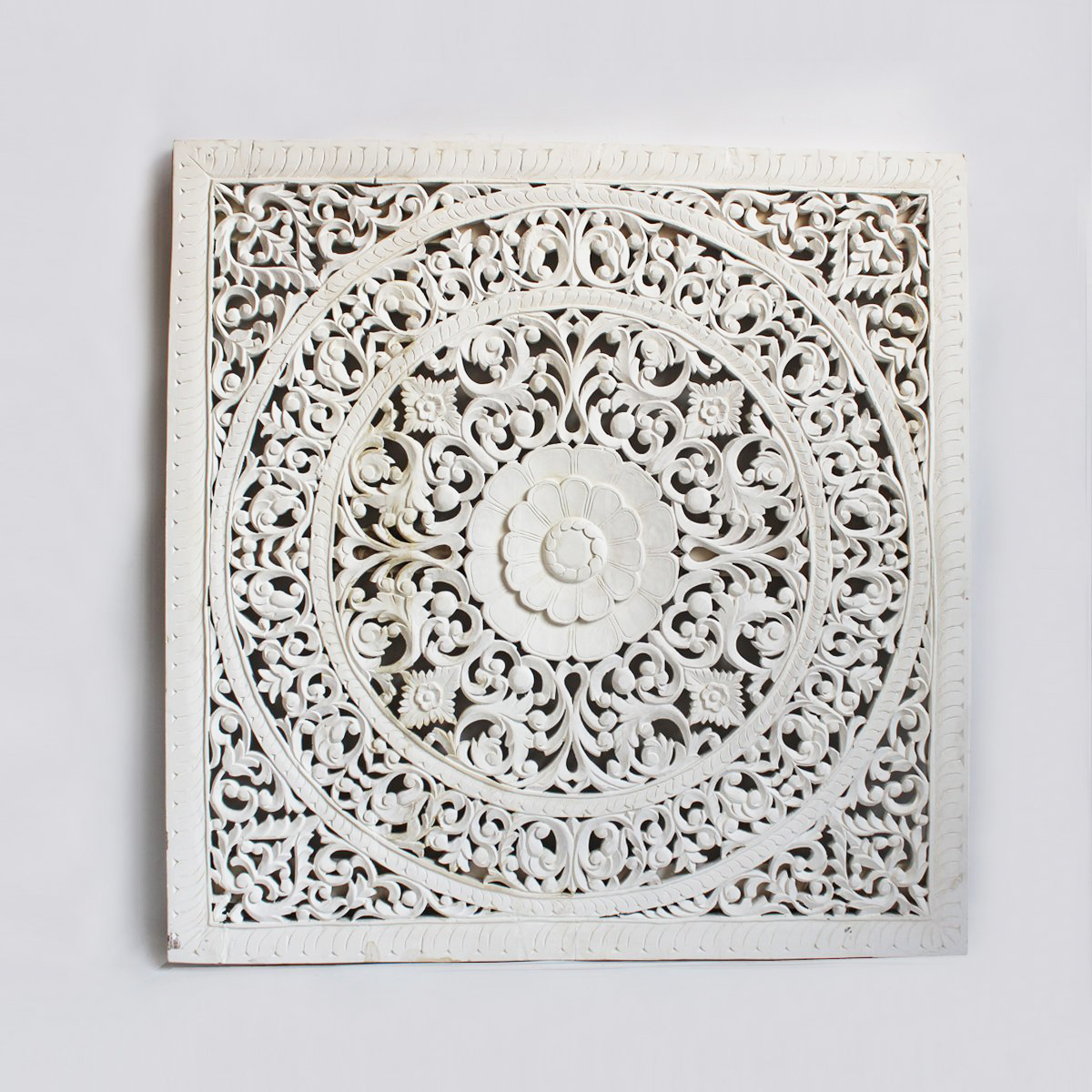 White Teak Carved Panel 60 Furniture Design Mix Gallery